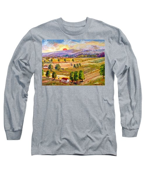 Lasithi Valley In Greece Long Sleeve T-Shirt
