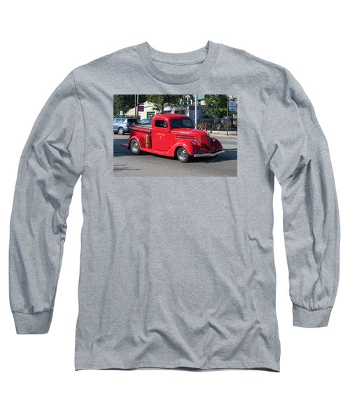 Last Chance Hose Company Long Sleeve T-Shirt by Suzanne Gaff