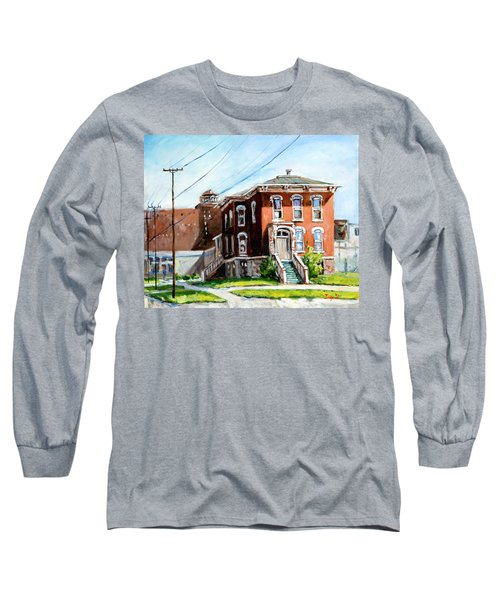 Last House Standing Long Sleeve T-Shirt by Alexandra Maria Ethlyn Cheshire