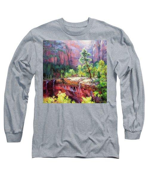 Last Light In Zion Long Sleeve T-Shirt