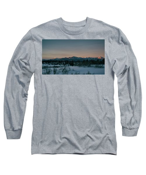 Last Light On Pagosa Peak Long Sleeve T-Shirt