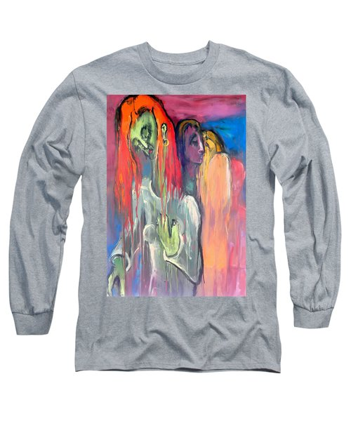 Last Original Lineup Long Sleeve T-Shirt by Kenneth Agnello