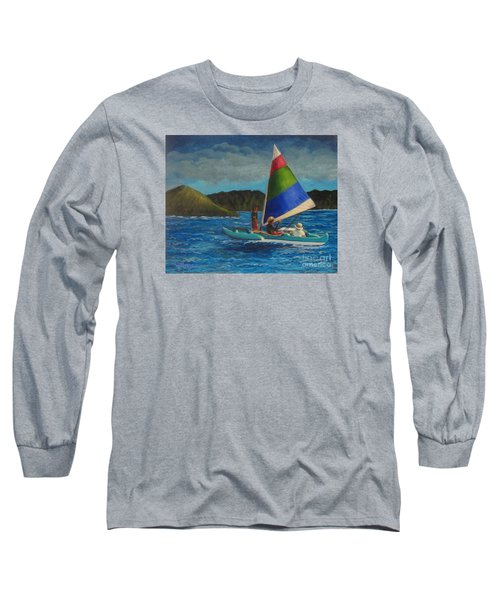 Last Sail Before The Storm Long Sleeve T-Shirt
