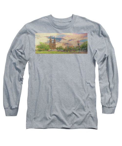 Long Sleeve T-Shirt featuring the photograph Lasting Impression - Prague by Leigh Kemp