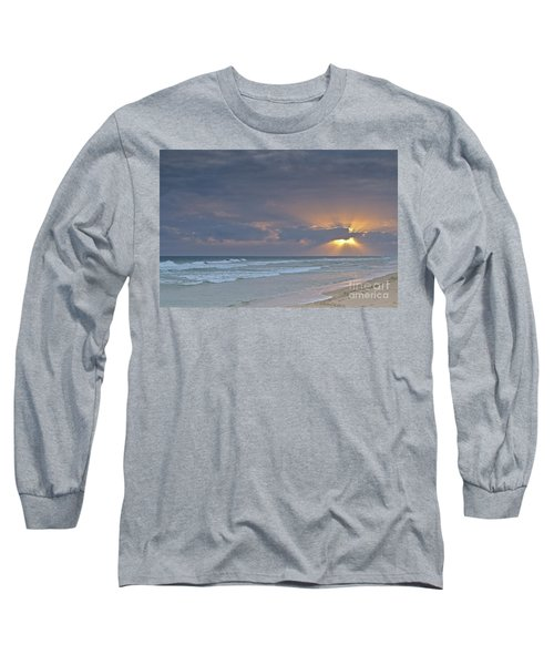 Late Afternoon In Ilha Deserta. Algarve Long Sleeve T-Shirt