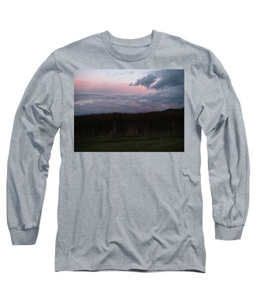 Long Sleeve T-Shirt featuring the photograph Late Light by Laurie Stewart