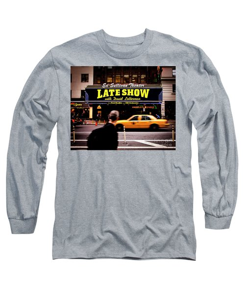 Late Show Long Sleeve T-Shirt