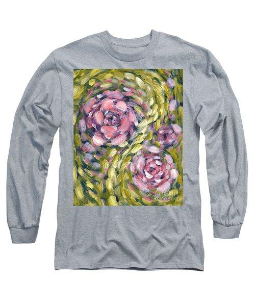 Late Summer Whirl Long Sleeve T-Shirt