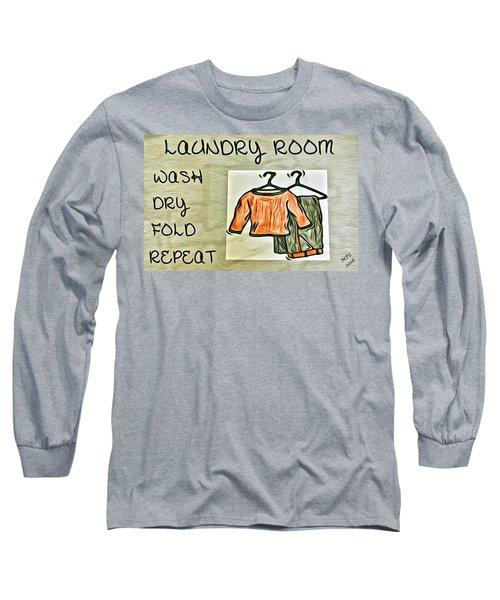 Laundry Room Long Sleeve T-Shirt