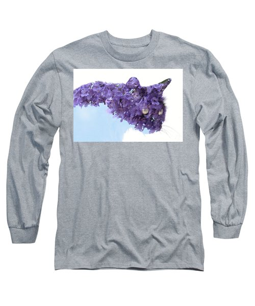 Laurel Tree In Cat Long Sleeve T-Shirt