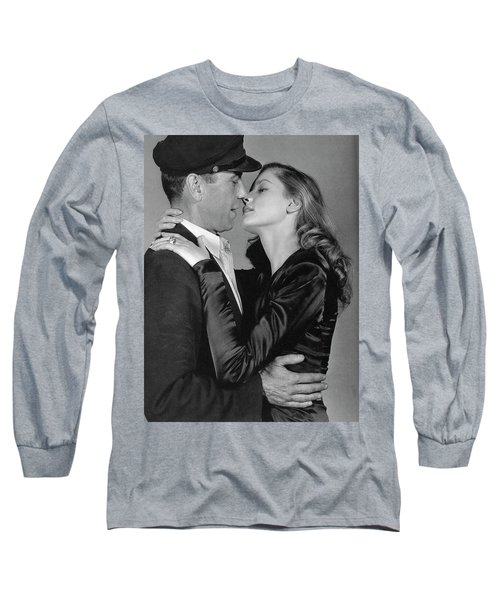 Lauren Bacall Humphrey Bogart To Have And Have Not 1944 Long Sleeve T-Shirt