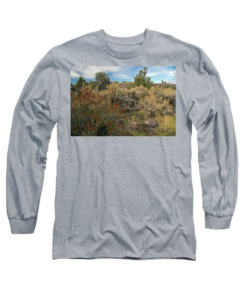 Lava Formations Long Sleeve T-Shirt by Cindy Murphy - NightVisions