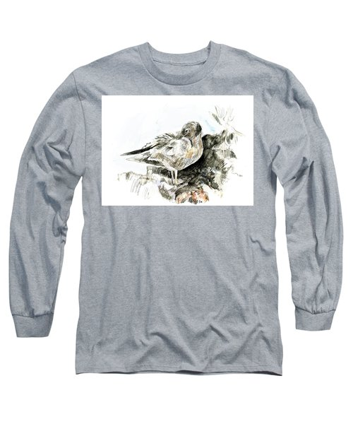 Lava Gull Long Sleeve T-Shirt