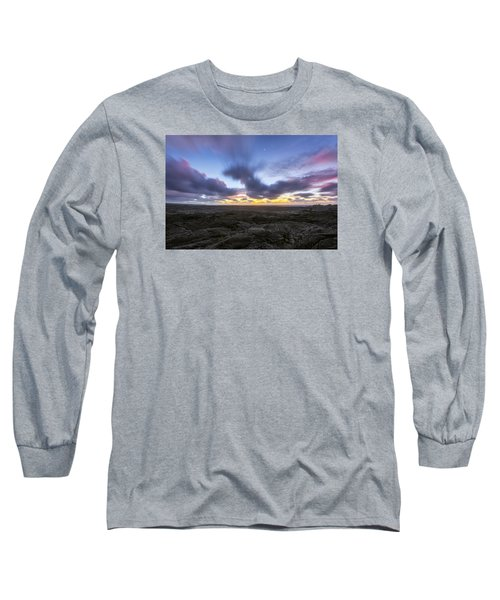 Long Sleeve T-Shirt featuring the photograph Lava Twilight by Ryan Manuel