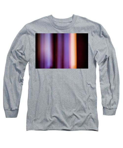 Lavender And Rose Gold Long Sleeve T-Shirt