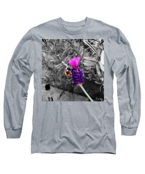 Lavender Harvest Long Sleeve T-Shirt