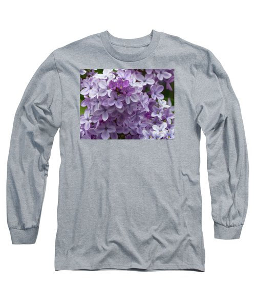 Lavender Lilacs Long Sleeve T-Shirt