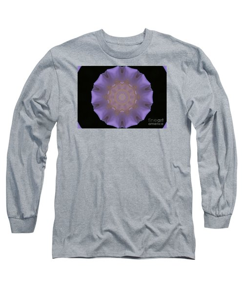 Lavender Pinwheel Long Sleeve T-Shirt