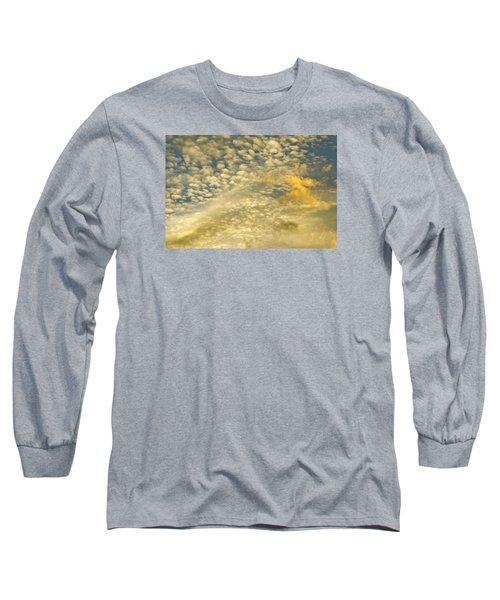 Long Sleeve T-Shirt featuring the photograph Layers Of Sky by Wanda Krack