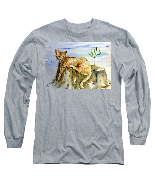 Lazy Evening Long Sleeve T-Shirt