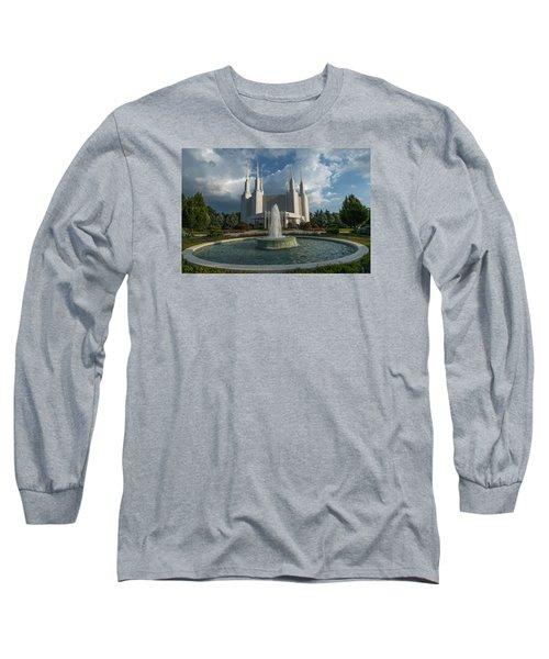 Lds Water Fountain  Long Sleeve T-Shirt