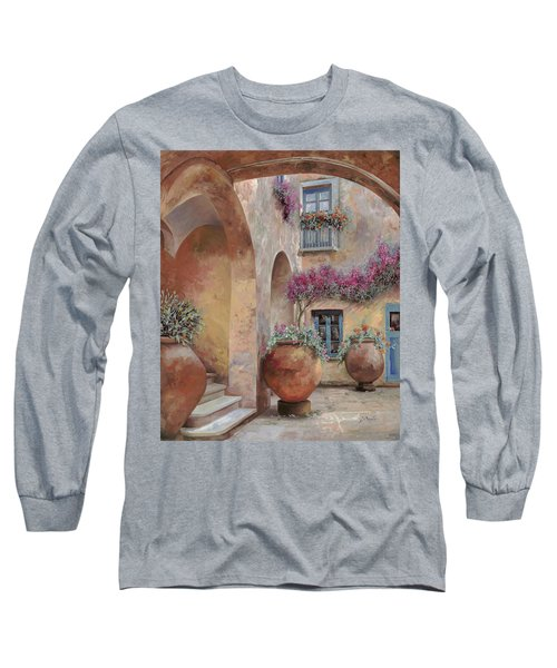 Le Arcate In Cortile Long Sleeve T-Shirt