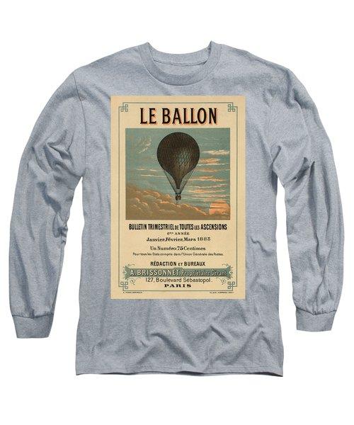 Le Balloon Journal Long Sleeve T-Shirt