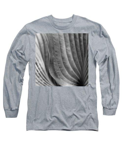 Leaf - Edgy Path Long Sleeve T-Shirt by Ben and Raisa Gertsberg