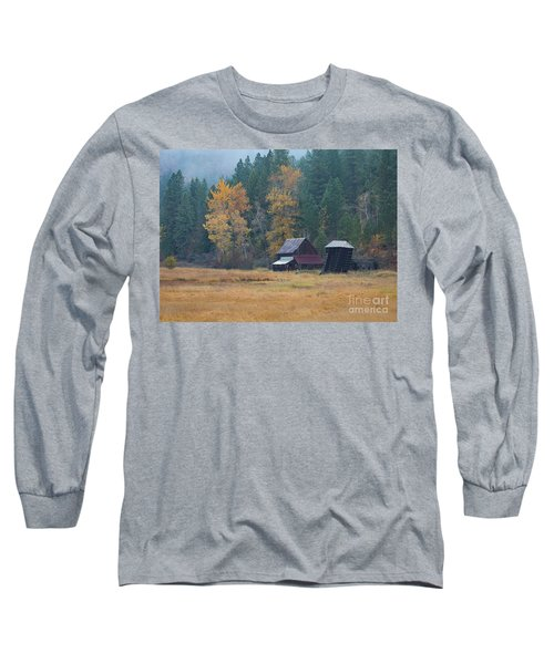 Leaning Into Winter Long Sleeve T-Shirt