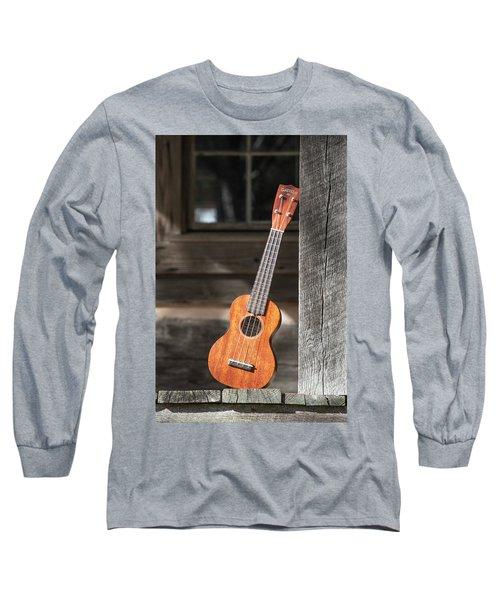 Leaning Uke Long Sleeve T-Shirt
