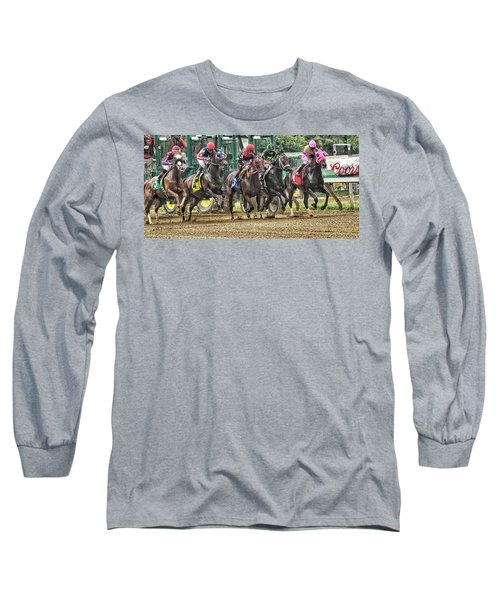 Leaping Forward Long Sleeve T-Shirt