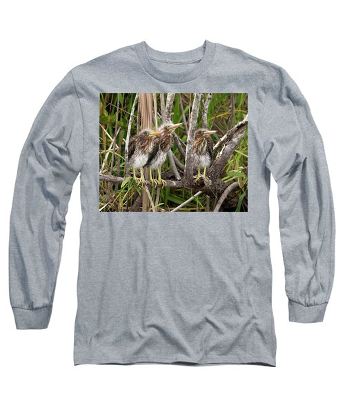 Learning To Be Self Sufficient Long Sleeve T-Shirt by Lamarre Labadie