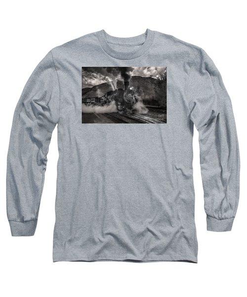 Leaving Durango For Silverton Long Sleeve T-Shirt