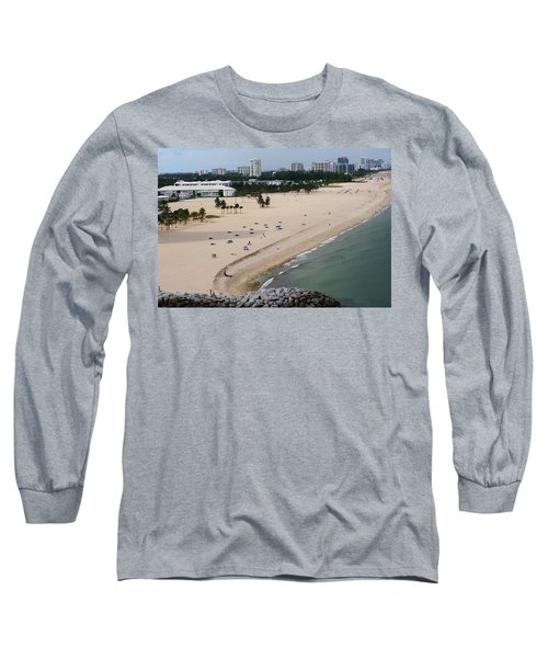 Leaving Ft Lauderdale Long Sleeve T-Shirt