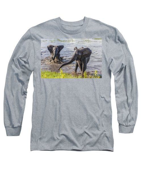 Leaving The River Long Sleeve T-Shirt