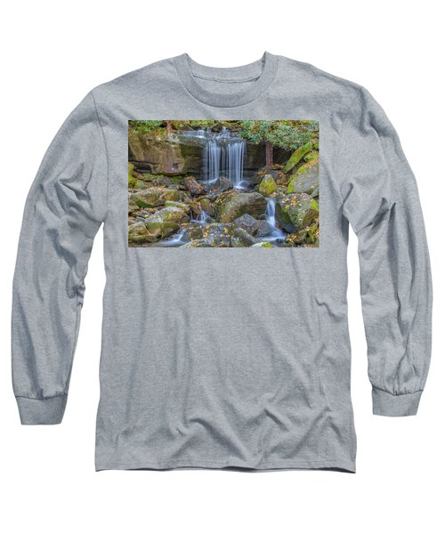 Leconte Creek Waterfall 2 Long Sleeve T-Shirt