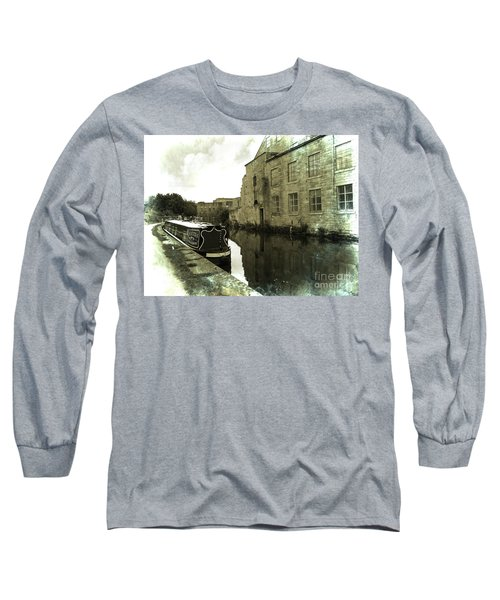 Leeds Liverpool Canal Unchanged For 200 Years Long Sleeve T-Shirt