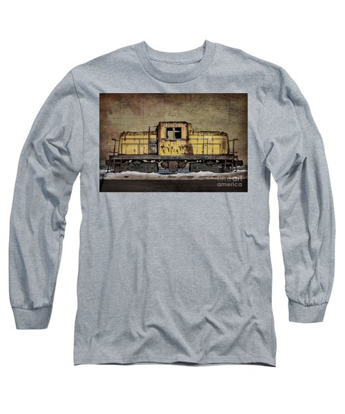 Left To Rust Long Sleeve T-Shirt by Judy Wolinsky