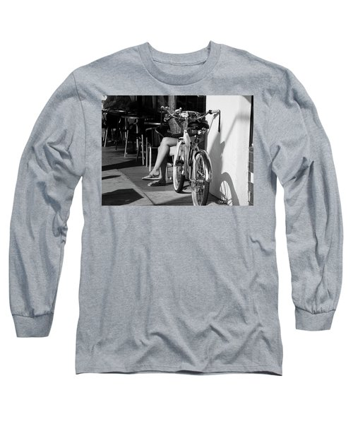 Leg Power - B And W Long Sleeve T-Shirt