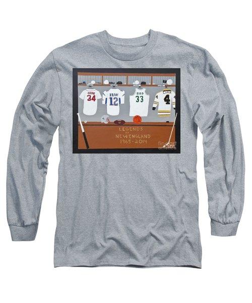 Legends Of New England Long Sleeve T-Shirt