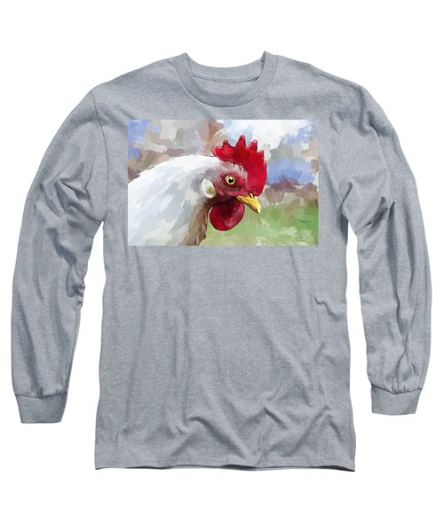 Leghorn Hen Long Sleeve T-Shirt
