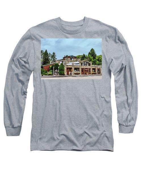 Long Sleeve T-Shirt featuring the photograph Legs Inn Of Cross Village by Bill Gallagher