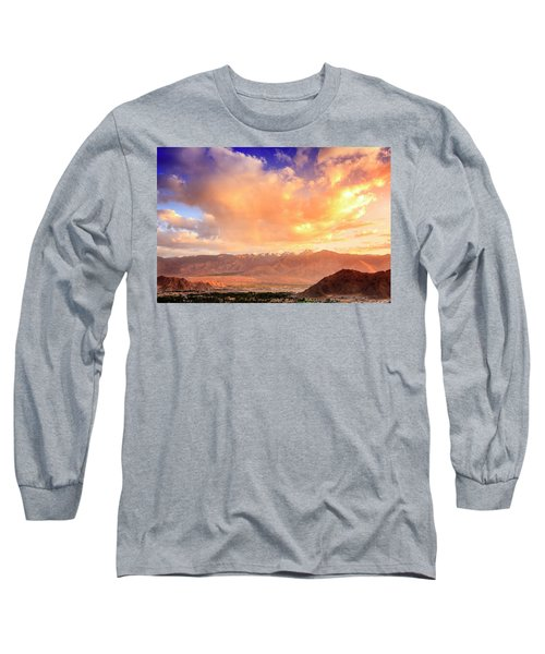Long Sleeve T-Shirt featuring the photograph Leh, Ladakh by Alexey Stiop