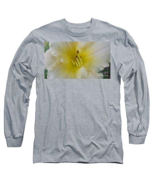 Lemon Daylily Long Sleeve T-Shirt