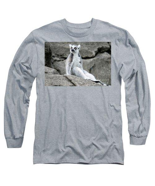 Lemur The Cutie Long Sleeve T-Shirt
