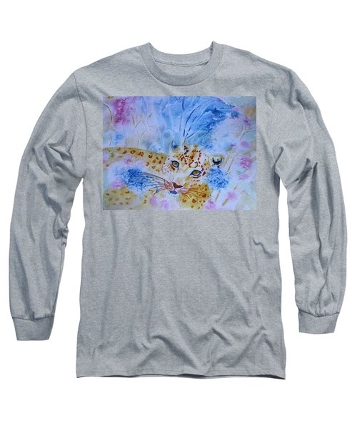 Leopard Hide And Seek Long Sleeve T-Shirt