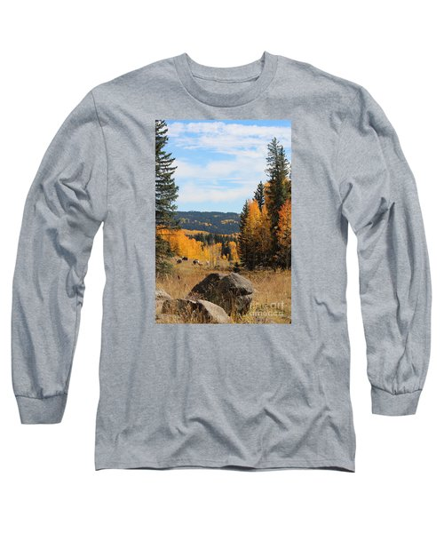 Leroux Creek Autumn In Colorado Long Sleeve T-Shirt