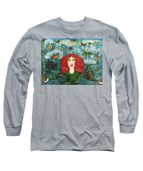 Lessons From A Butterfly Long Sleeve T-Shirt