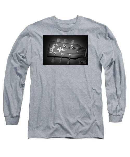 Long Sleeve T-Shirt featuring the photograph Let The Music Play by Baggieoldboy