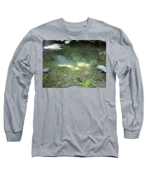 Long Sleeve T-Shirt featuring the photograph Let The Sunshine by Marie Neder